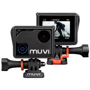 Veho Muvi KX-1 Wi-Fi Handsfree Camera Camcorder | 4k Action Cam | 12MP Photo - VCC-008-KX1