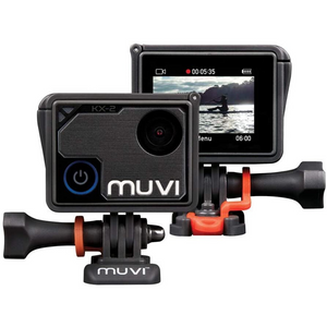 Veho Muvi KX-2 NPNG Wi-Fi Handsfree Camera | 32GB microSD Card | 4k Action Cam | 12MP Photo - VCC-009-KX2-NPNG
