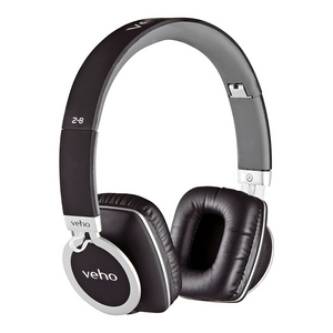 Veho Z8 On-Ear Wired Foldable Super Soft Headphones - VEP-008-Z8