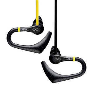Veho ZS2 Water Resistant Sports Earphones - Black/Yellow - VEP-005-ZS2