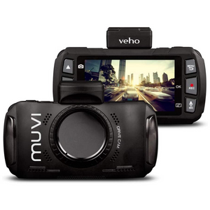 "Veho Muvi Drivecam KZ-1 Dashcam | Quad HD | Wi-fi | GPS | 3.0"" LCD Widescreen display 