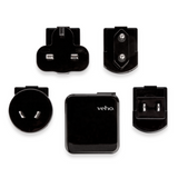 Veho Muvi Multi Regional Mains USB Charger for UK, EU, US & AUS Adapter - VAA-005