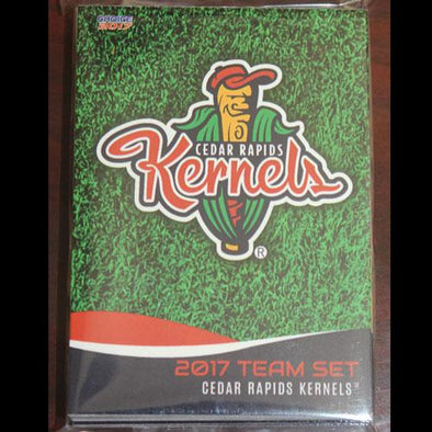 Cedar Rapids Kernels 2017 Card set