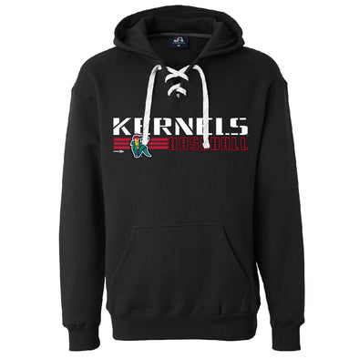 Cedar Rapids Kernels Lace Up Hoodie Sweatshirt