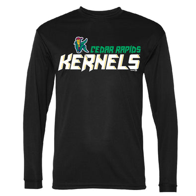 Cedar Rapids Kernels Long sleeve Dri-Fit