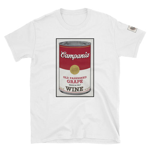 CANNED WINE: CAMPANIA- Unisex T-Shirt
