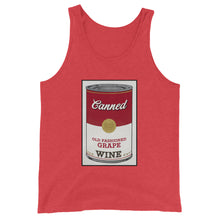 Load image into Gallery viewer, CANNED WINE- Unisex  Tank Top