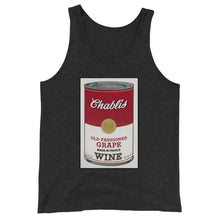 Load image into Gallery viewer, CANNED WINE: CHABLIS- Unisex  Tank Top