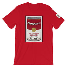 Load image into Gallery viewer, CANNED WINE: CAMPANIA- Super Soft Unisex T-Shirt