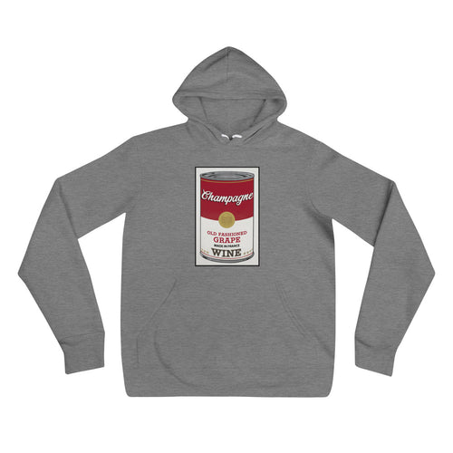 CANNED WINE: CHAMPAGNE- Unisex hoodie