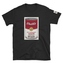 Load image into Gallery viewer, CANNED WINE: CHABLIS- Unisex T-Shirt