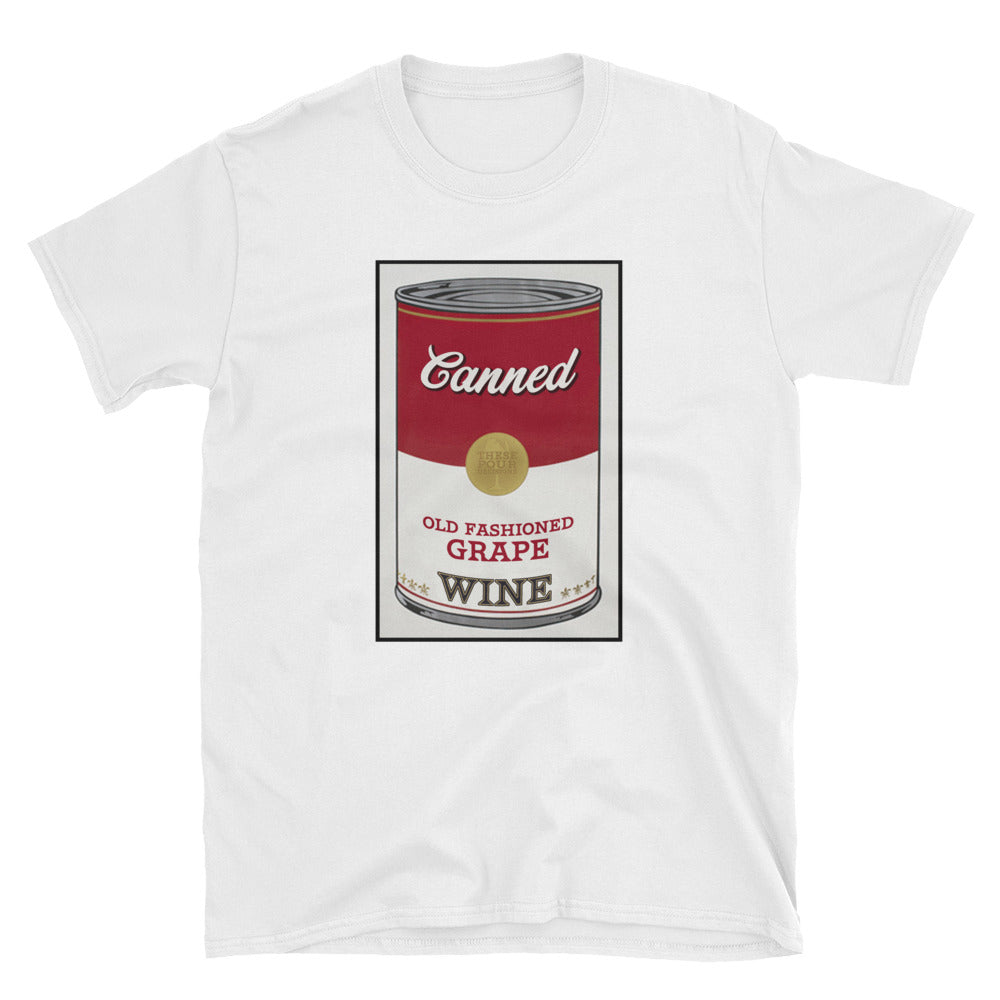 CANNED WINE- Unisex tee