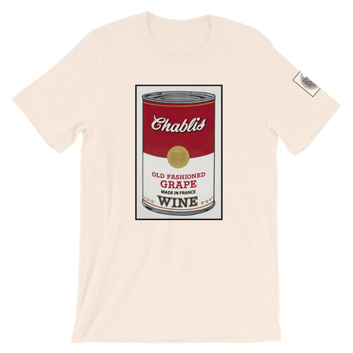 CANNED WINE: CHABLIS- Super Soft Unisex T-Shirt