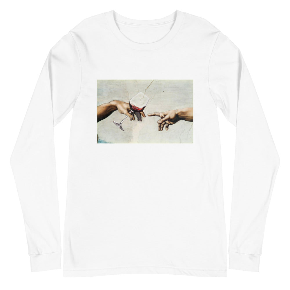 THE CREATION- Unisex Long Sleeve Tee