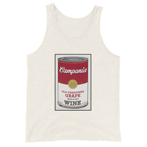 CANNED WINE: CAMPANIA- Unisex  Tank Top