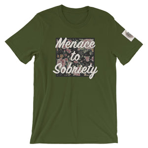 MENACE TO SOBRIETY- Super soft Unisex tee