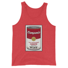 Load image into Gallery viewer, CANNED WINE: CAMPANIA- Unisex  Tank Top
