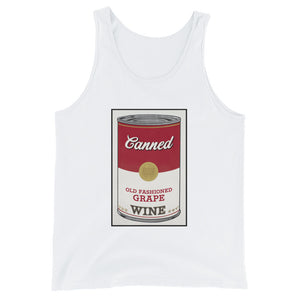 CANNED WINE- Unisex  Tank Top