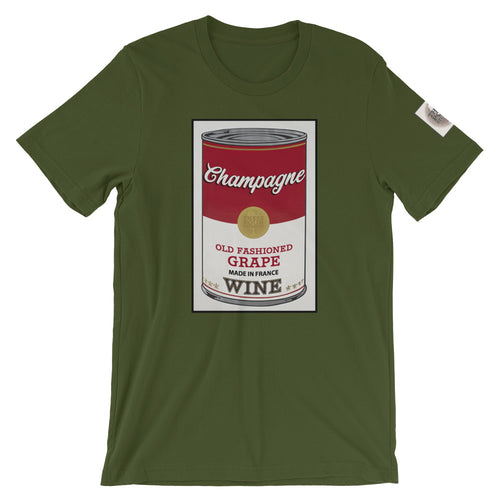 CANNED WINE: CHAMPAGNE- Super Soft Unisex T-Shirt