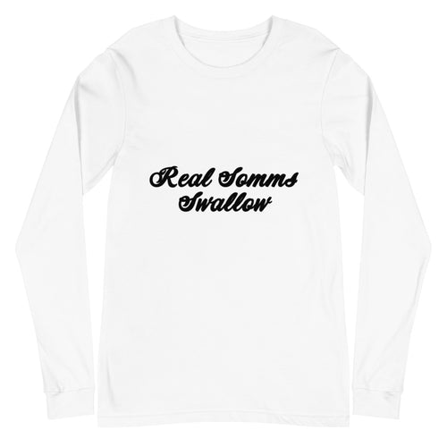 REAL SOMMS SWALLOW- Unisex Long Sleeve Tee