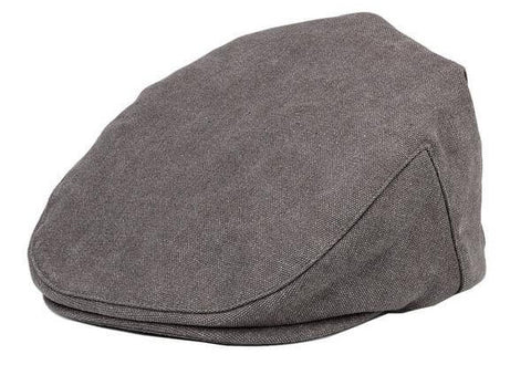 Flat Cap Canvas Old School Style Hat