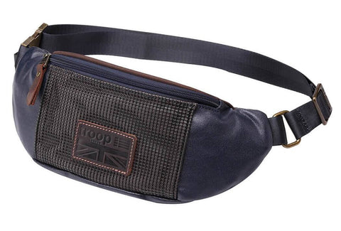 Heritage Waist Bag with Coated Canvas Casual
