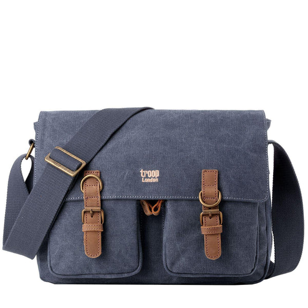 TRP0210 Troop London Classic Canvas Messenger Bag - troop-london-official