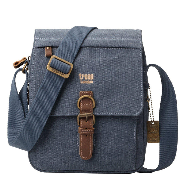 TRP0211 Troop London Classic Canvas Across Body Bag - troop-london-official