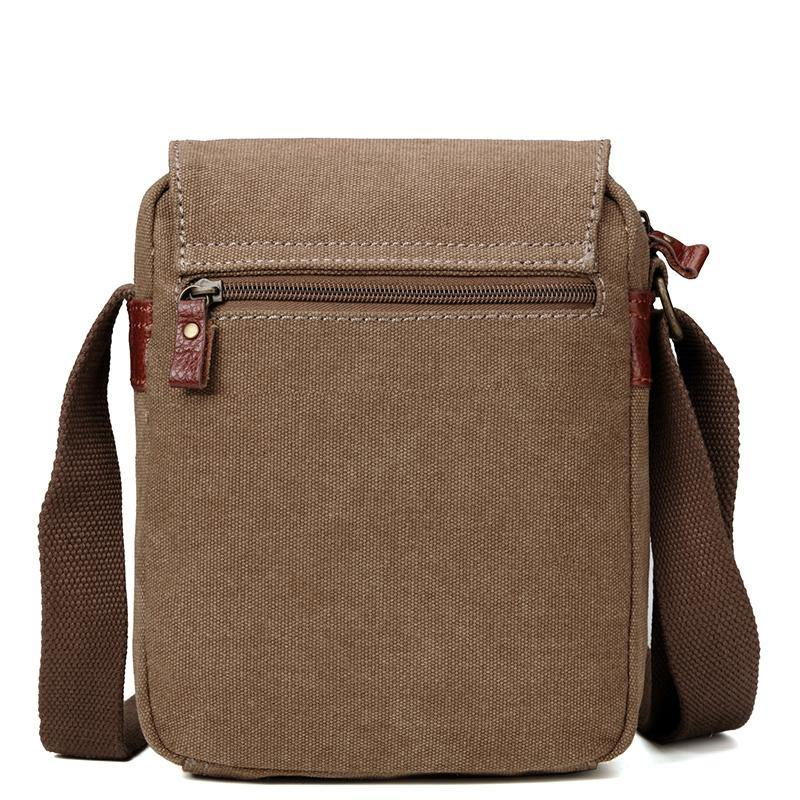 TRP0212 Troop London Classic Canvas Across Body Bag - Troop London