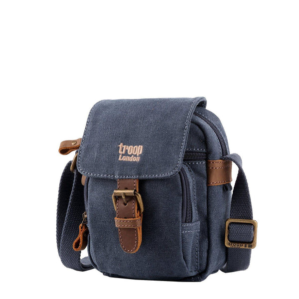 TRP0213 Troop London Classic Canvas Across Body Bag - Troop London