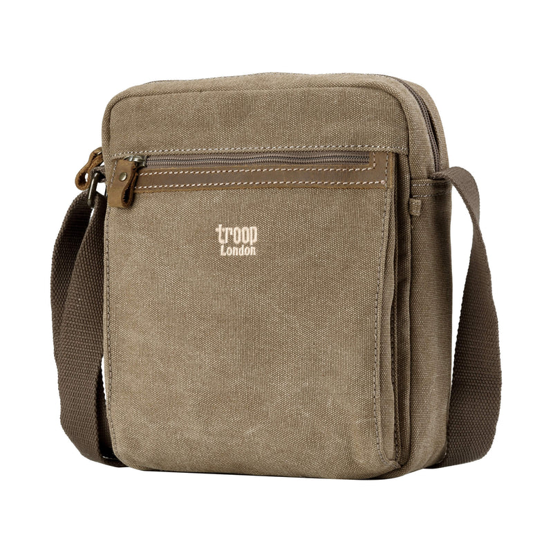 TRP0218 Troop London Classic Canvas Across Body Bag - Troop London