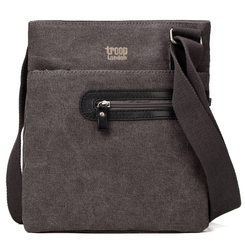 TRP0227 Troop London Classic Canvas Across Body Bag - Troop London