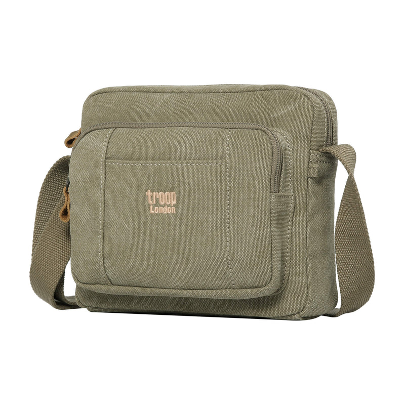 TRP0235 Troop London Classic Canvas Across Body Bag - Troop London