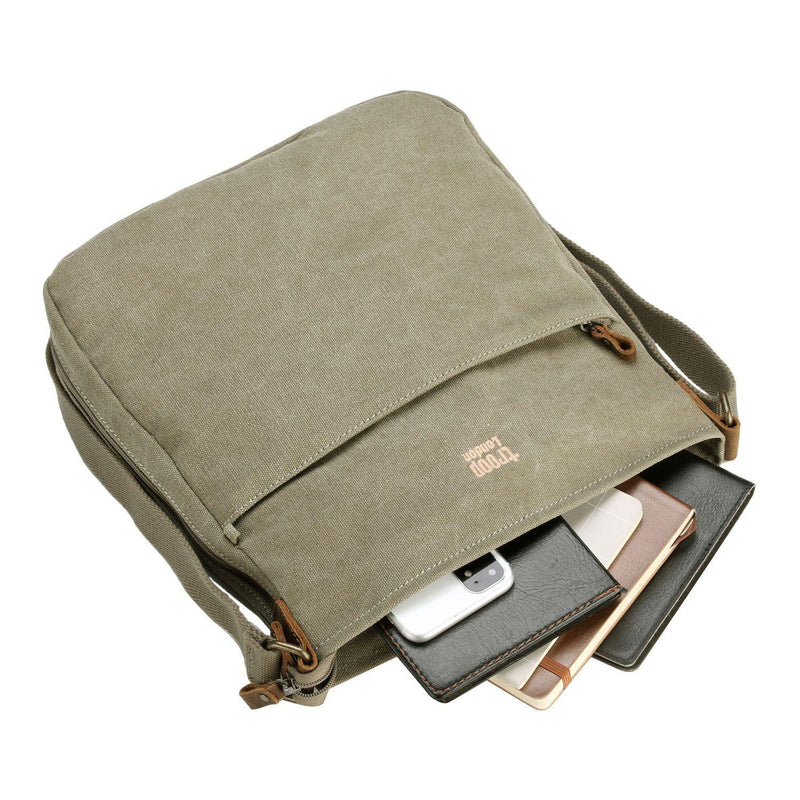 TRP0236 Troop London Classic Canvas Across Body Bag