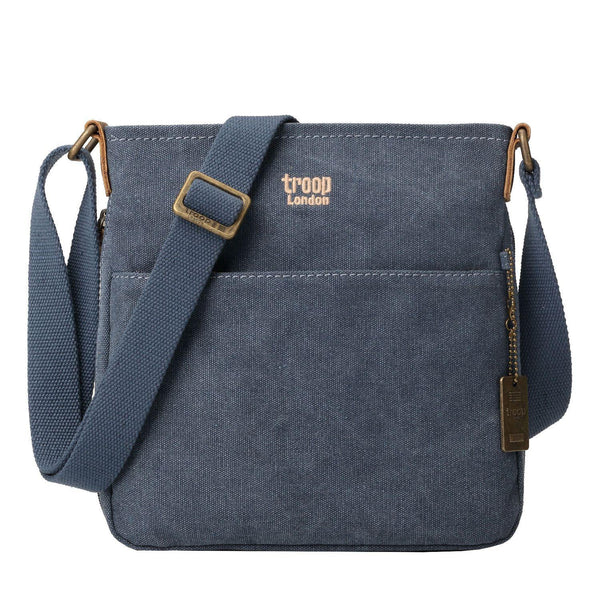 TRP0237 Troop London Classic Canvas Across Body Bag - troop-london-official