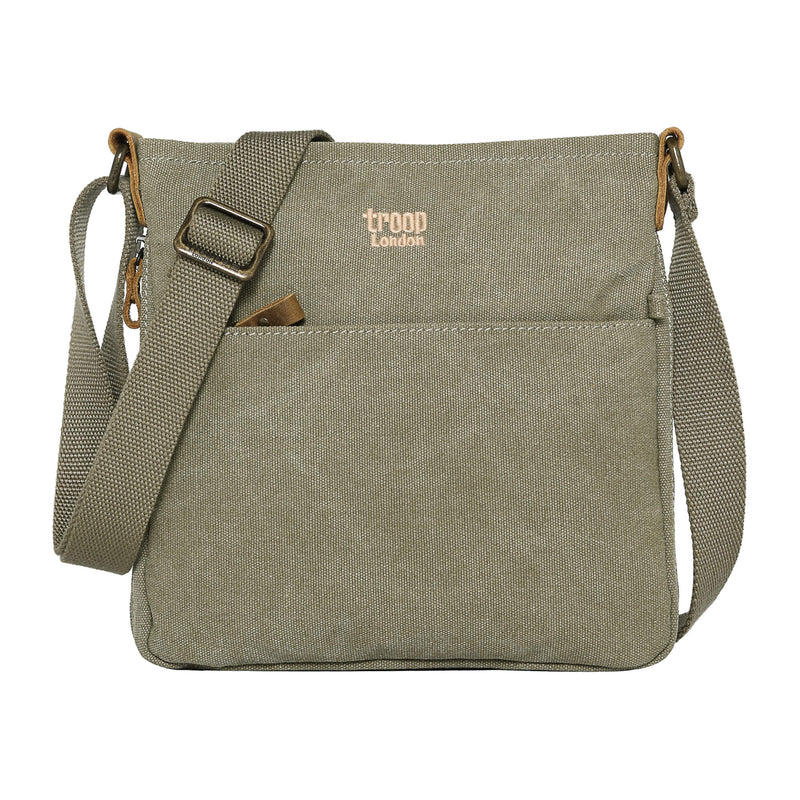 TRP0237 Troop London Classic Canvas Across Body Bag - Troop London
