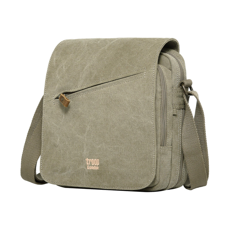 TRP0238 Troop London Classic Canvas Across Body Bag - troop-london-official