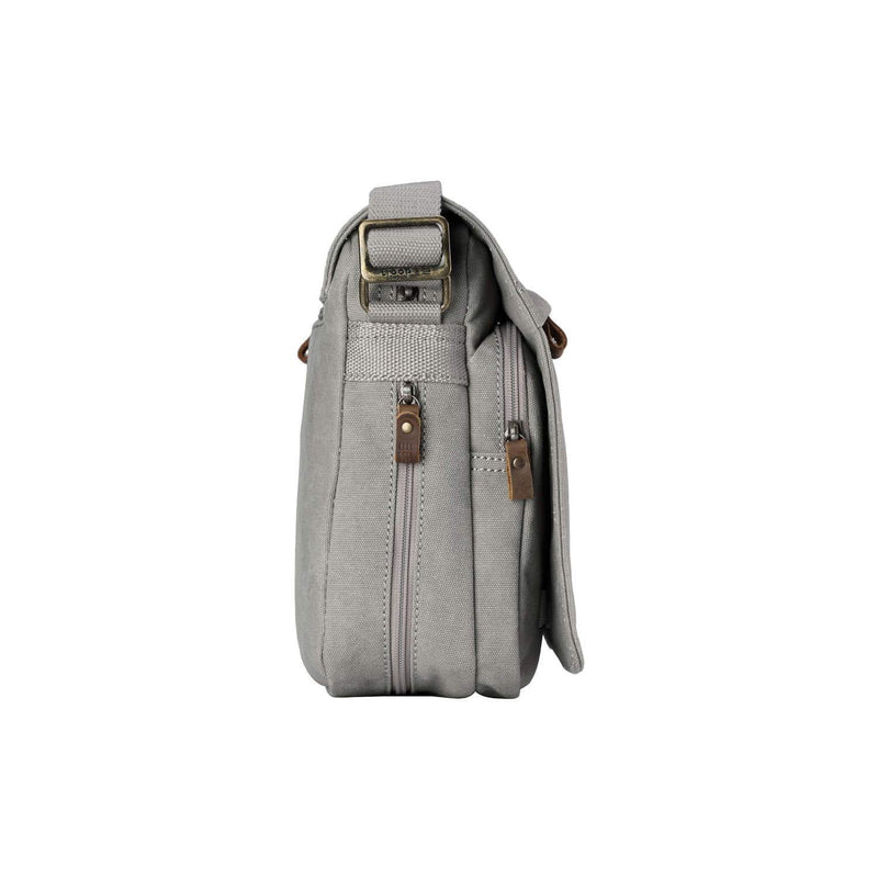 TRP0241 Troop London Classic Canvas Messenger Bag