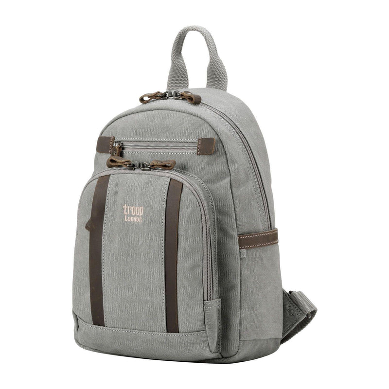 TRP0255 Troop London Classic Canvas Backpack - Small