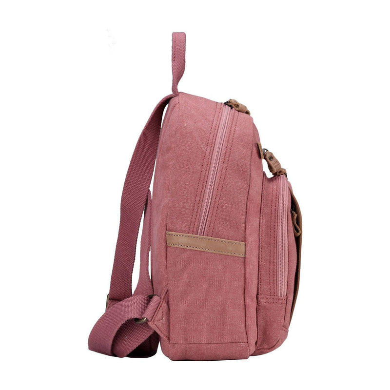 TRP0255 Troop London Classic Canvas Backpack - Small - Troop London