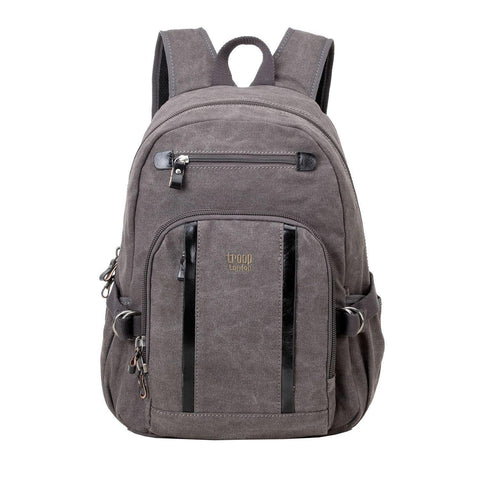 TRP0256 Troop London Classic Canvas Backpack - Medium - troop-london-official