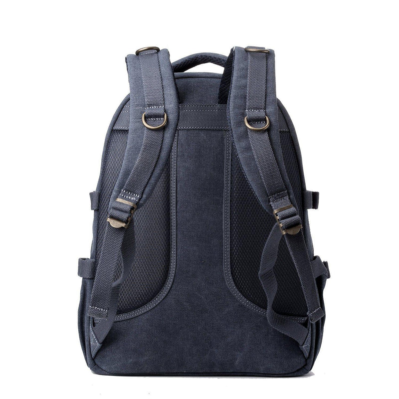 TRP0257 Troop London Classic Canvas Laptop Backpack - Large - Troop London