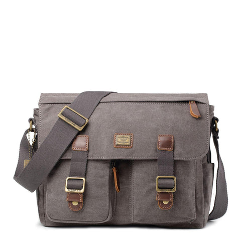 TRP0270 Troop London Classic Canvas Messenger Bag - troop-london-official