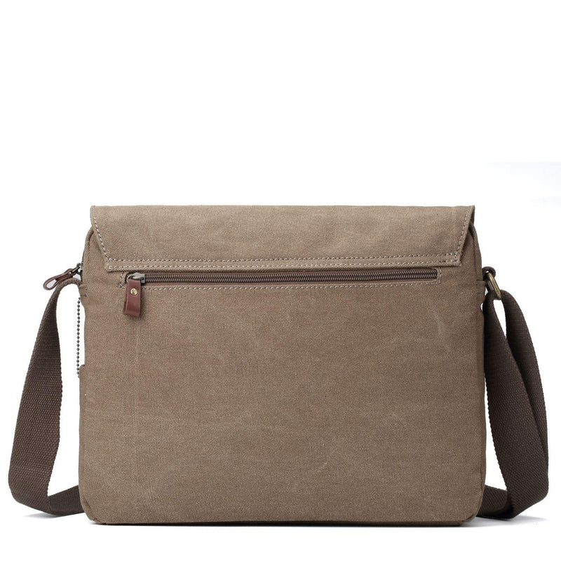 TRP0365 Troop London Classic Canvas Messenger Bag - Troop London