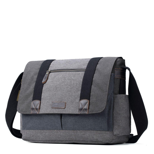 "TRP0386 Troop London Urban Laptop Messenger Bag - 17"" Diagonally - troop-london-official"