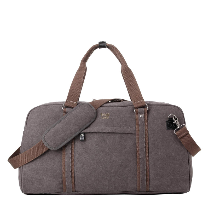 TRP0389 Troop London Classic Canvas Travel Duffel Bag, Large Holdall - Troop London
