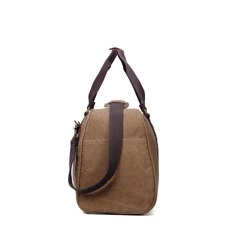 TRP0389 Troop London Classic Canvas Travel Duffel Bag, Large Holdall - troop-london-official