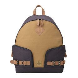 TRP0433 Troop London Heritage Canvas Backpack, Smart Casual Daypack, Tablet Friendly Backpack