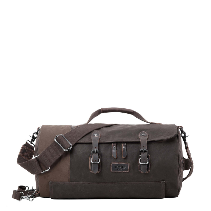 TRP0444 Troop London Heritage Canvas Travel Duffel Bag, Backpack, Canvas Holdall, Gym Bag