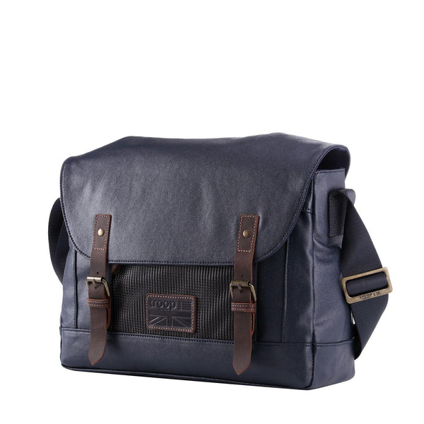 TRP0456 Troop London Heritage Canvas Laptop Messenger Bag, Laptop Travel Bag - Troop London